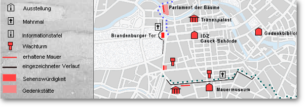 Routes through the History of Berlin